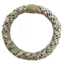 Bow's by Stær Braided Hairties Multi Mint Gold Glitter