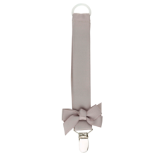 Bow's by Stær Pacifier Holder (grey)