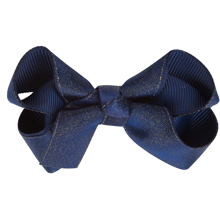 Bow's by Stær Satin Bow Navy