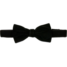 Bow's by Stær Bow Tie Velour Black