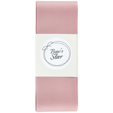 Bow's by Stær Christening Ribbon Antique Rose