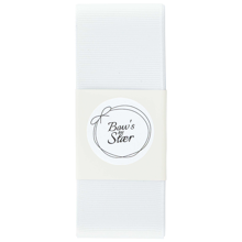 Bow's by Stær Christening Ribbon White