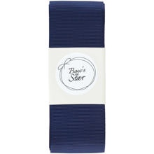 Bow's by Stær Christening Ribbon Navy