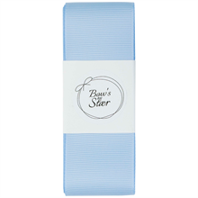 Bow's by Stær Christening Ribbon Light Blue