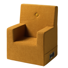 KK Kids Chair XL Mustard w. Mustard Buttons