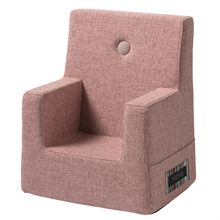 KK Kids Chair Soft Rose w. Rose Buttons