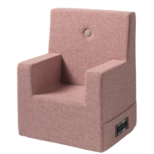 KK Kids Chair XL Soft Rose w. Rose Buttons