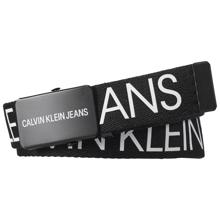 Calvin Klein Canvas Logo Belt Black