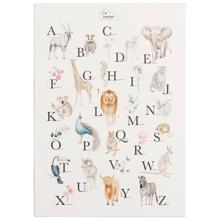 Cam Cam Alphabet Poster French