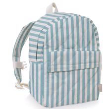 Cam Cam Backpack Blue/White Stripes