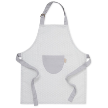 Cam Cam Kids Apron Grey Wave