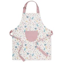 Cam Cam Kids Apron Pressed Leaves Rose
