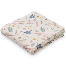 Cam Cam Muslin Cloths 2-pack Pressed Leaves Rose