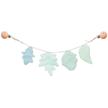 Cam Cam Pram Chain Leaves Blue Mix