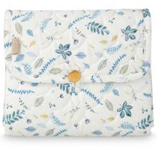 Cam Cam Changing Mat Pressed Leaves Blue