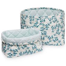 Cam Cam Quilted Storage Basket 2 Pack Fiori