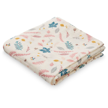 Cam Cam Muslin Cloth GOTS Pressed Leaves Rose