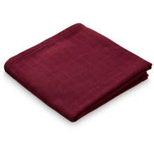 Cam Cam Muslin Cloth GOTS Bordeaux