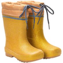 CeLaVi  Thermal Wellies w. Linning Pale Gold