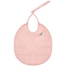 CeLaVi PU Bib Round Basic Misty Rose