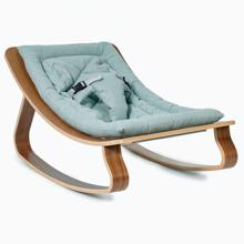 Charlie Crane Levo Baby Rocker Walnut Sweet Grey