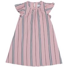 Christina Rohde 101 Dress Rose Stripe