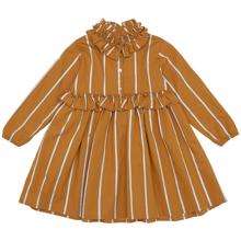 Christina Rohde 136 Dress Mustard Stripe