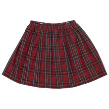 Christina Rohde 202 Skirt Red Checked