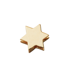 Design Letters Star Charm GOLD Plated