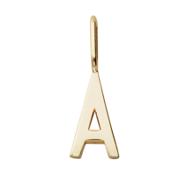 Design Letters Archetype Charm GOLD Plated