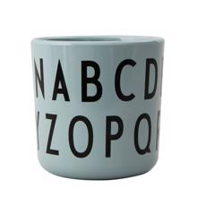 Design Letters Green ABC Cup