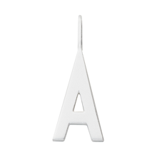 Design Letters Archetype Large Charm Sterling Silver