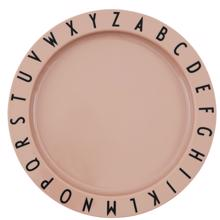 Design Letters Nude Eat & Learn ABC Plate