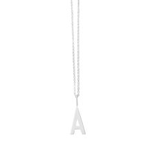 Design Letters Small Chain Sterling Silver