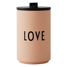 Design Letters Thermo/ Insulated Cup LOVE Pink