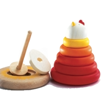 Djeco Stacking Game Mother Hen