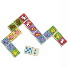 Djeco Domino Farm Animals
