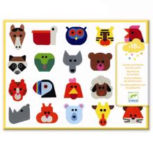 Djeco Stickers for Toddlers Animals