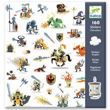 Djeco Stickers Knights