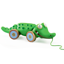 Djeco Pull Along Toy Croc'n'Roll