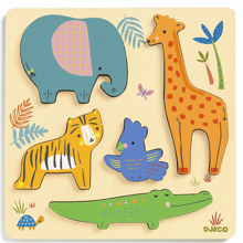 Djeco Woodyjungle Relief Puzzle