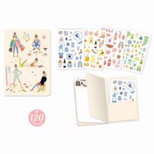 Djeco Lovely Paper Tinou Sticker Notebook