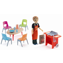Djeco Petit Home Barbecue and Accessories