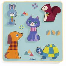 Djeco Puzzle Domestic Animals