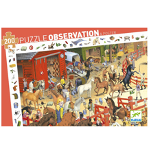Djeco Observation Puzzle Horses