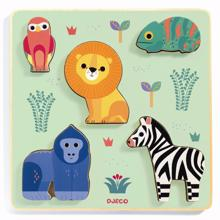 Djeco Puzzle Wild Animals