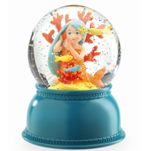 Djeco Snow Globe w. Light Mermaid