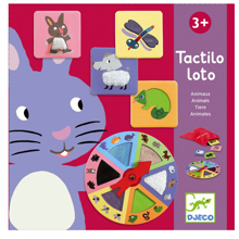 Djeco Touch/Feel Game Animals