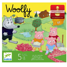 Djeco Woolfy The Wolf and The Three Little Pigs