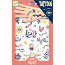 Djeco Tattoos Dreams Glow in the Dark